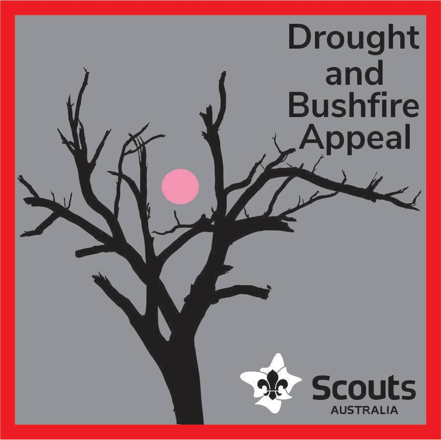 Scouts NSW Drought & Bushfire Appeal Badge